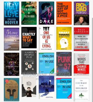 All Tpyes of Ebooks and Novels | Books & Games for sale in Kampala, Central Division