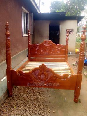 Wooden Bed   Furniture for sale in Kampala, Makindye