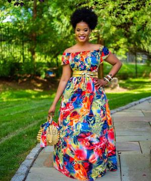 Flowered Long Dresses | Clothing for sale in Kampala, Central Division