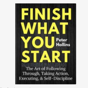 Finish What You Start | Books & Games for sale in Kampala, Central Division