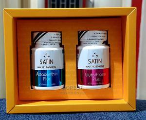 Satin Skinz Glutathione Plus Astaxanthin | Vitamins & Supplements for sale in Kampala, Central Division