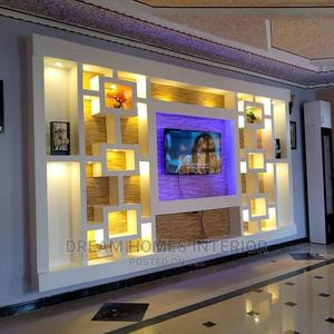 Gypsum TV Unit Square Design   Other Repair & Construction Items for sale in Kampala, Central Division