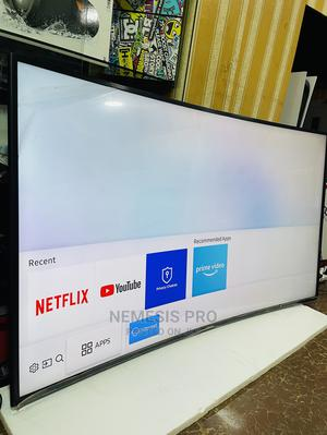 Samsung 55 Inches Curved UHD TV | TV & DVD Equipment for sale in Kampala, Central Division