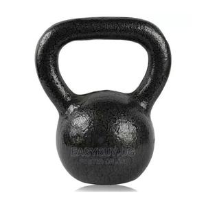 Gym Kettle-Bell Weight for Fitness and Exercises-Black   Sports Equipment for sale in Kampala, Central Division