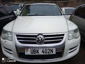 Volkswagen Touareg 2009 White   Cars for sale in Kampala, Central Division