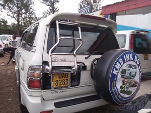 Toyota Land Cruiser Prado 1988 White   Cars for sale in Kampala, Makindye