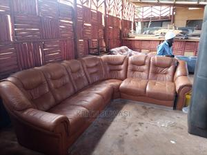 Original Leather Seaters   Furniture for sale in Kampala, Rubaga