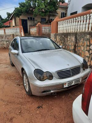 Mercedes-Benz C-Class 2003 C 180 Kompressor (W203) Silver   Cars for sale in Kampala, Central Division