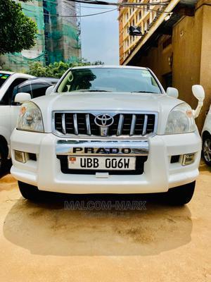 Toyota Land Cruiser Prado 2005 2.7 I 16V White   Cars for sale in Kampala, Central Division