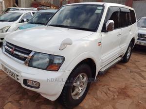 Mitsubishi Pajero 2005 White   Cars for sale in Kampala, Makindye