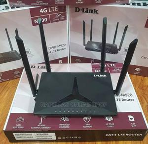 D-Link 4G LTE Router 4G LTE 32 Users Connection.   Networking Products for sale in Kampala, Central Division