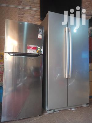 LG Double Door 320 Litres Fridge Built In Smart Inverter And Stabilizer   Kitchen Appliances for sale in Kampala